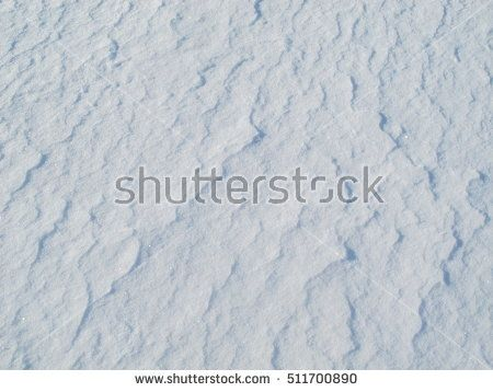 snow surface - wavy texture
