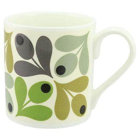 Buy Orla Kiely Multi Acorn Mug Online at johnlewis.com