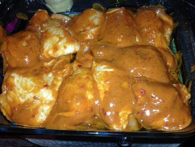 Szaftos csirke