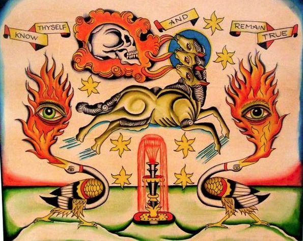 Know Thyself and Remain True, Image via http://cyclopeatron.blogspot.com/2010/06/robert-ryans-harmonic-planar-wizardness.html