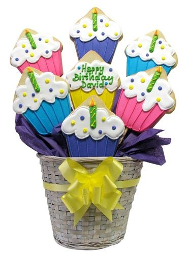 Cookie Bouquets - Gourmet Cookies; Gift Baskets