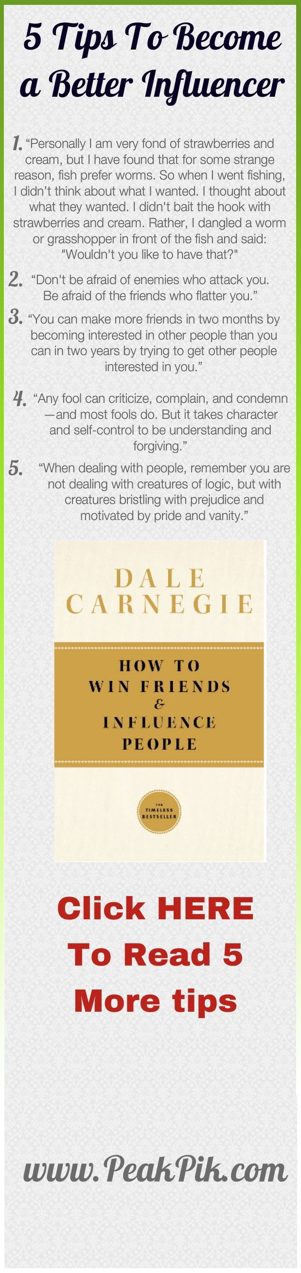 Daily Tips And Motivation   Dale Carnegie How To Win Friends And Influence People. These principles still work today