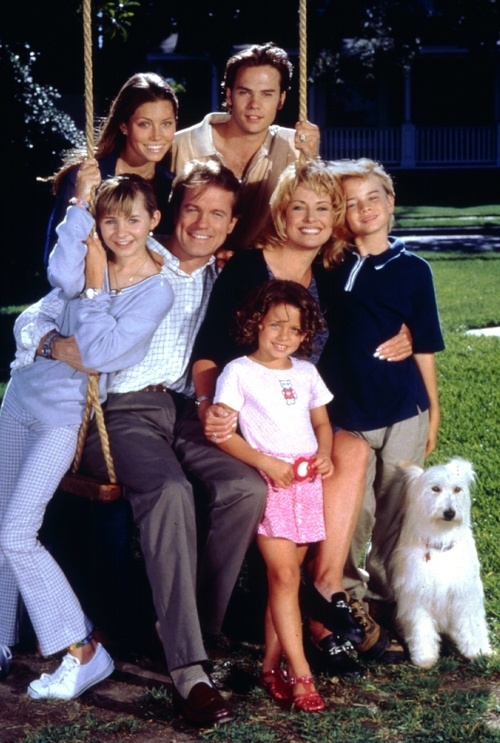 "7th heaven! I remember my dad made fun of me for watching such a ""silly soap opera"", even though I would tell him over and over that it wasn't a soap opera! He soon got hooked though, and was even recording it every week so he wouldn't fall behind! Haha oh dad. :)"