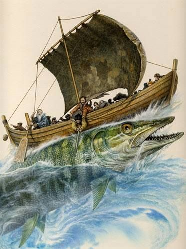 Pike in Finnish mythology