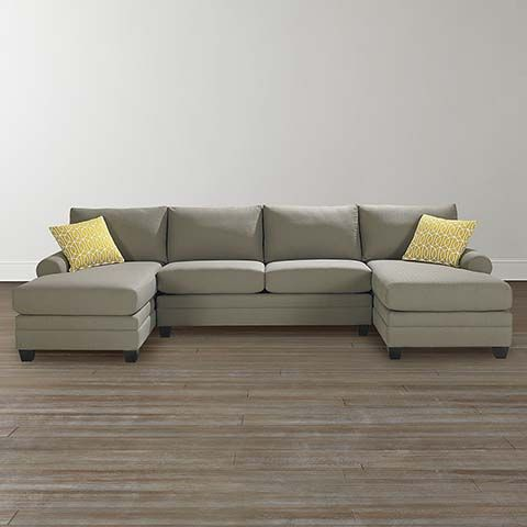 SS Double Chaise Sectional
