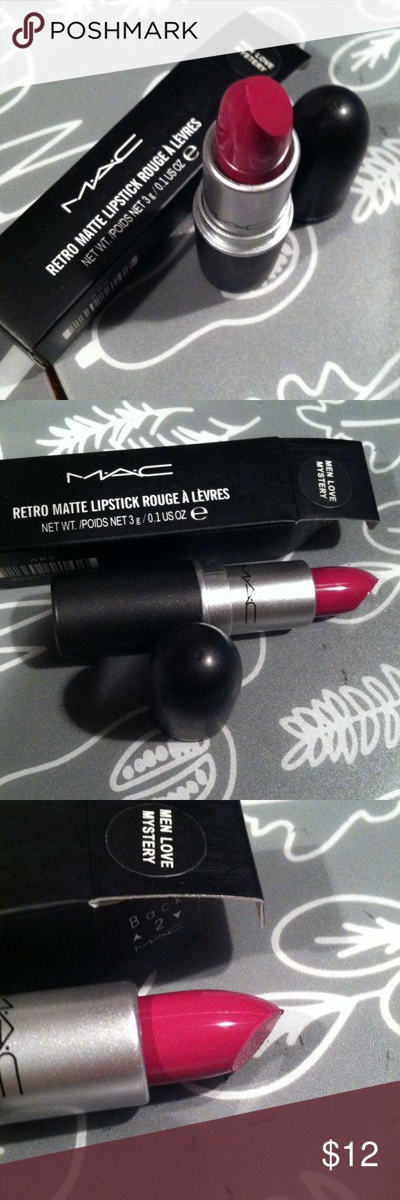 Mac retro matte lipstick in Men love mystery Brand new in box MAC Cosmetics Makeup Lipstick