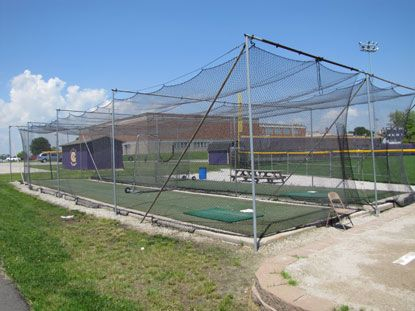 home batting cages photo of batting cages hickman high school columbia 1654