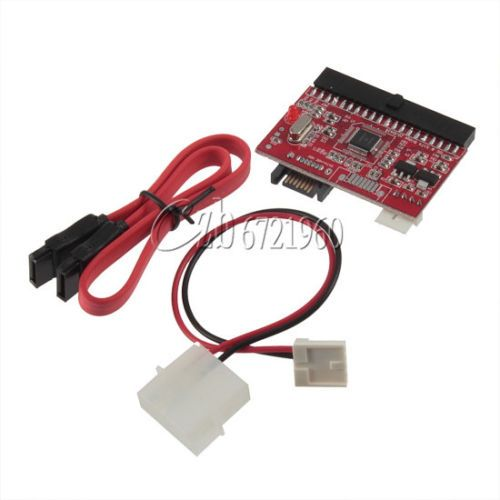 2in1 IDE to SATA / SATA to IDE Adapter Converter Supports Serial ATA 100/133 New