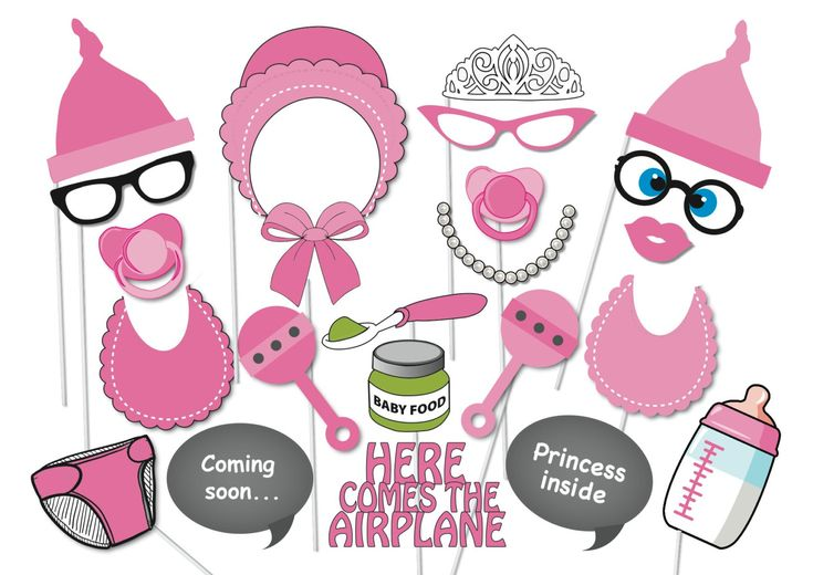 1000+ images about Baby Shower - Photo Booth Props on Pinterest | Baby ...
