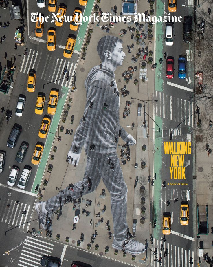 Behind the Making of Our Walking New York Cover - NYTimes.com
