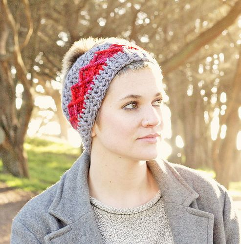Free Crochet Headband Patterns: Knits Crochet, Crochet Headwear, Free Crochet, Crochet Hats, Crochet Headbands Patterns, Crochet Headband Pattern, Crochet Flower Patterns, Crochet Patterns, Crochet Knits