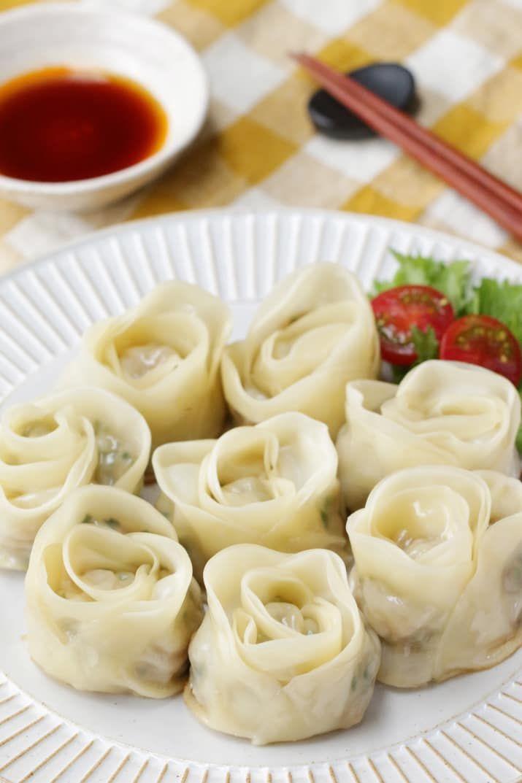 Thanksgiving feelings ♪ Mother's Day Bouquet dumplings