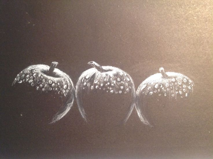 Three apples by tarushi