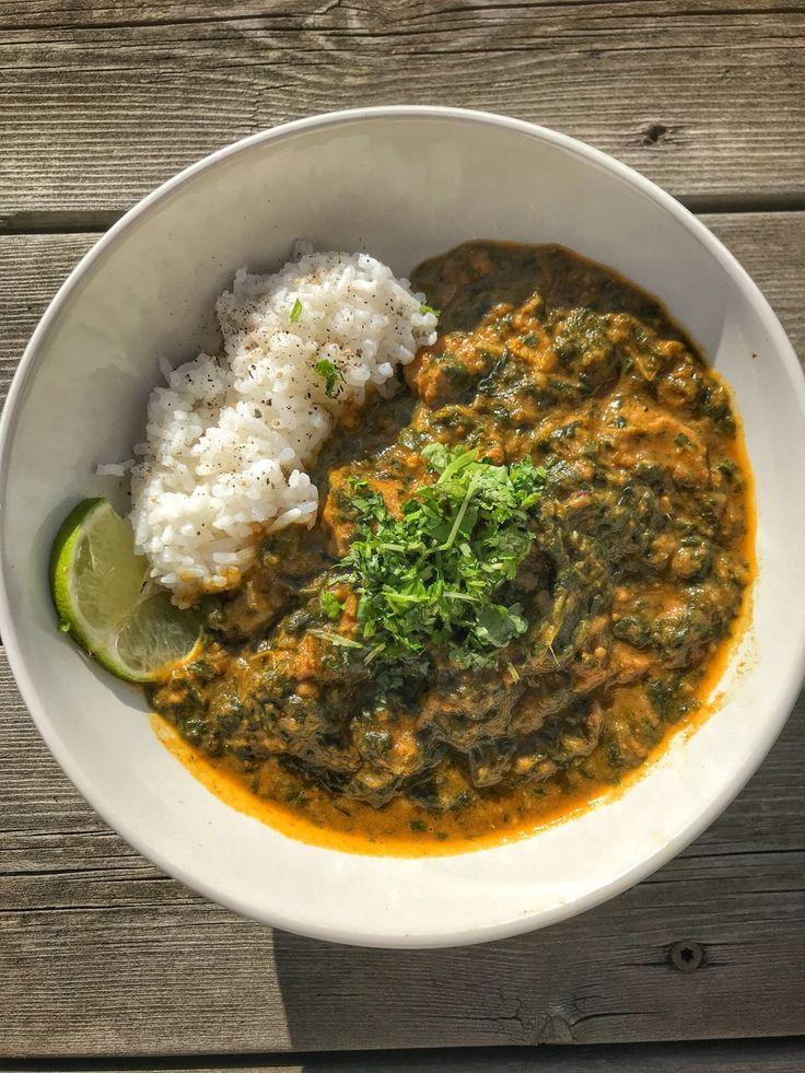 Lyxig vegansk Palak Paneer med tofu | Jävligt gott - vegetarisk mat och vegetariska recept för alla, lagad enkelt och jävligt gott.