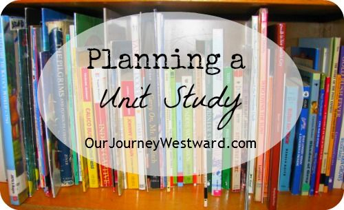Planning a Unit Study.  This homeschooler is a Charlotte Mason-ite-ish person, and she's got some great ideas on how to break it down step-by-step to generate great unit studies.