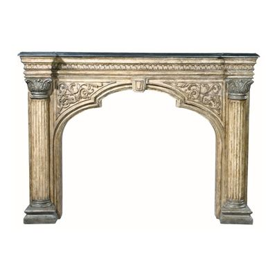 Ambella Home 01168-420-074 Arch Fireplace Surround