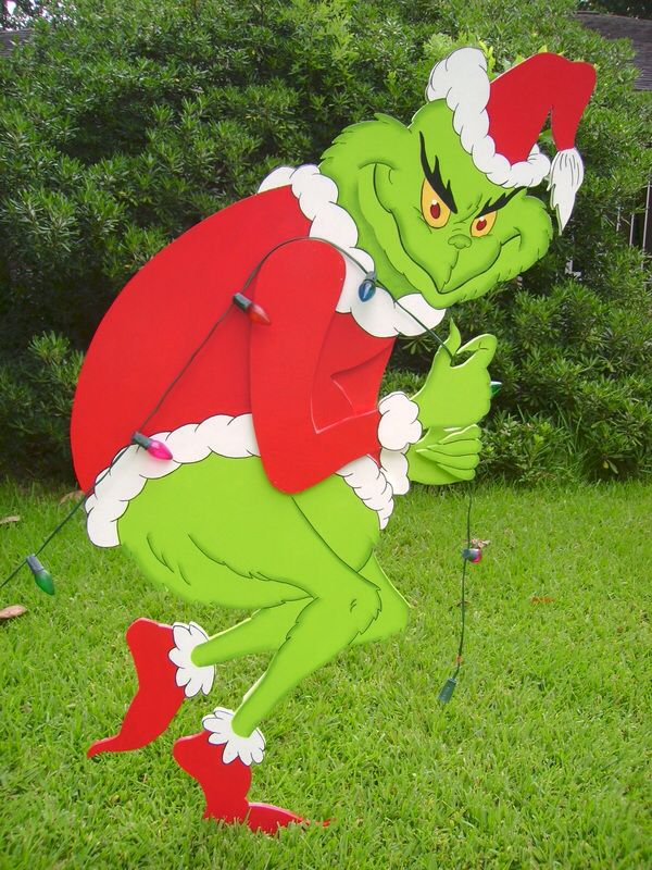 christmas grinch stealing house lights off of - Grinch Christmas Lights Outdoor
