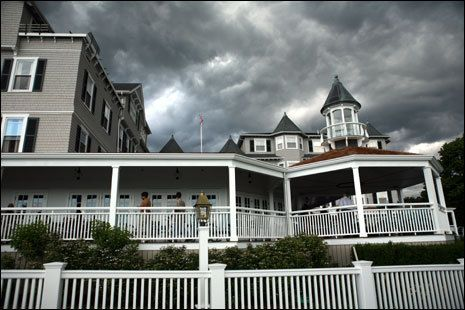 The Harbor View Hotel in Edgartown on Martha's Vineyard was built in 1891.