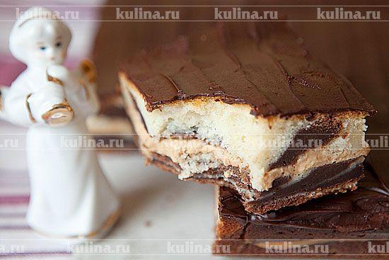 """Торт """"Зебра"""" - рецепт с фото"""