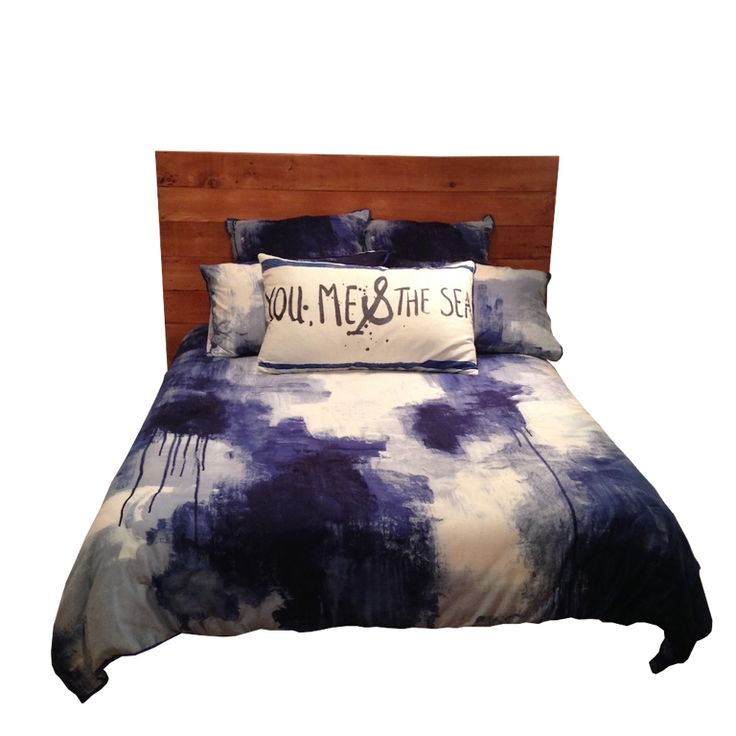 'The Forest' Double Bed Head. (Custom)