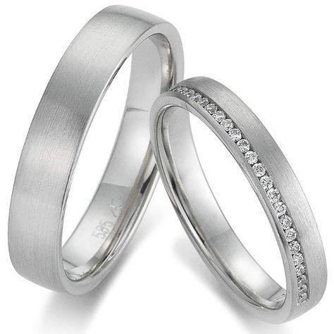 Weißgold ring ohne stein  Die 25+ besten Ehering ohne stein Ideen auf Pinterest