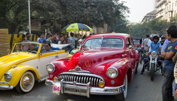 Mumbai daily: Our world - At the Vintage Car and motorcycle rally at Horniman Circle on Sunday.