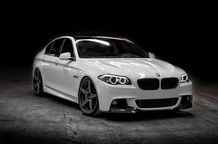 White BMW 5-Series M-Tech Tuned by Vorsteiner - 2015 BMW 5-Series, BMW 5-Series, BMW 5-Series 2015, BMW 5-Series Release Date, BMW 5-Series Specification - http://www.autocarbuzz.com/2204/white-bmw-5-series-m-tech-tuned-by-vorsteiner/