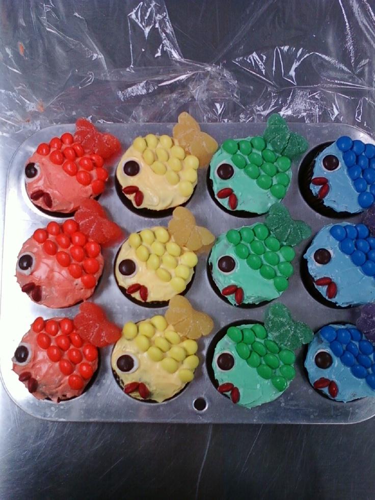 Fish Cupcakes Jack S 2nd Bday Pinterest The O Jays