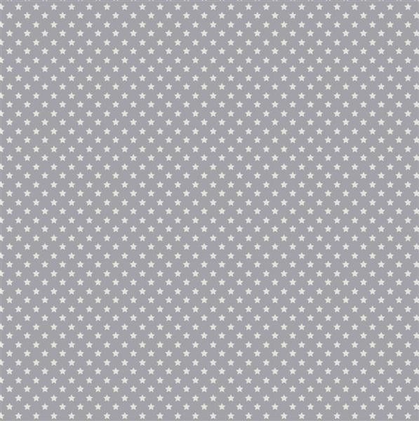 Tilda Corner Shop Fabric - MiniStar Bluegrey