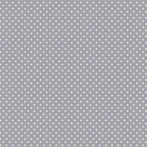 Tilda Corner Shop Fabric - MiniStar Bluegrey