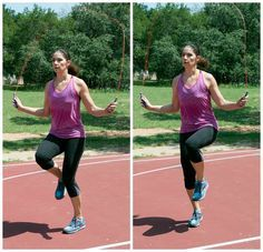 Blast 100 calories fast with this jump rope routine: Skips