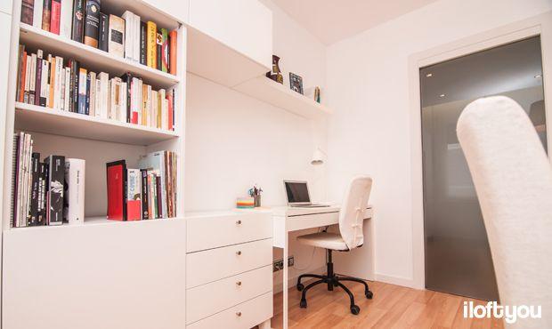 #proyectoserraiarola #iloftyou #interiordesign #ikea #barcelona #lowcost #besta #micke #lack