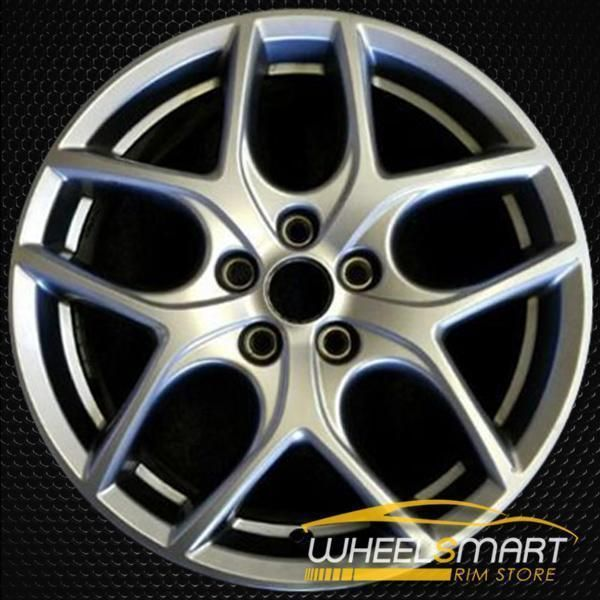 17 Ford Focus Oem Wheel 2015 2018 Dark Silver Alloy Stock Rim