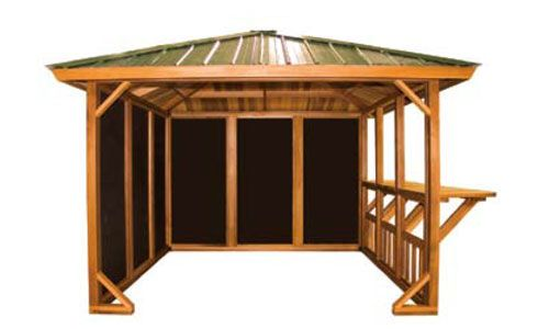Entertainer Hot Tub Gazebo The Name Says It All Perfect