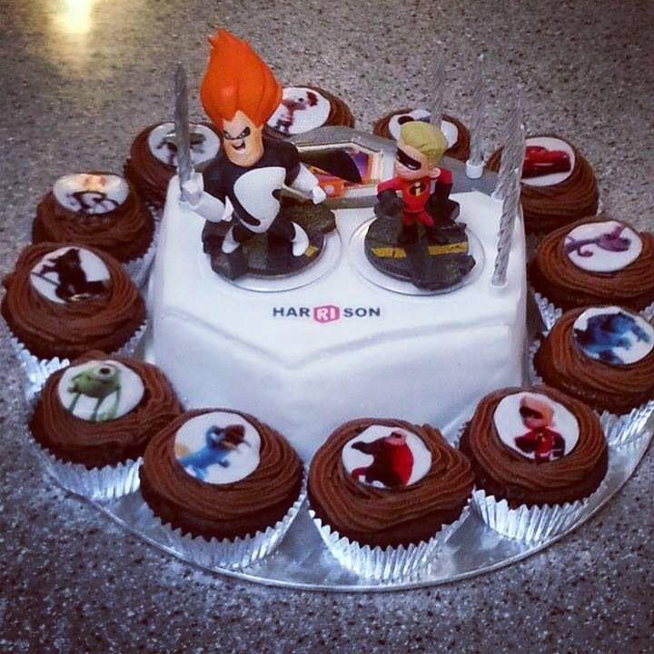 Another Disney Infinity cake Disney Infinity Pinterest ...