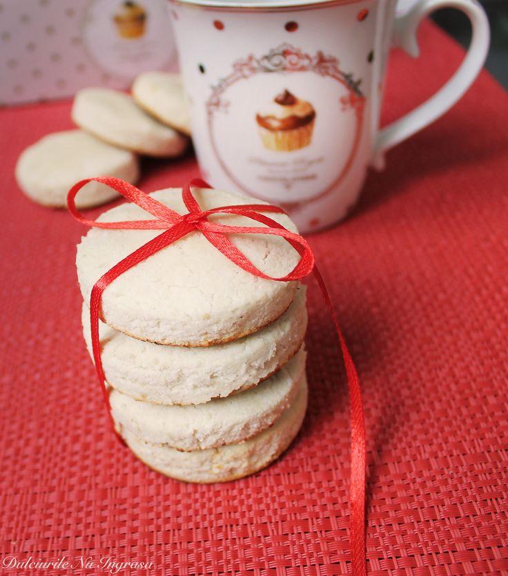 Biscuiti Proteici cu Faina de Cocos (fara zahar, fara gluten, fara unt, 100% sanatosi)