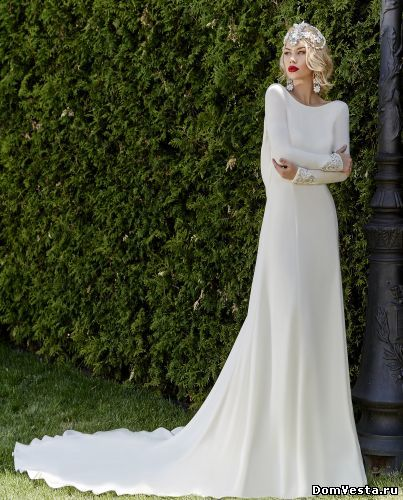 Дорогие свадебные платья, цены 45 - 65 тыс.руб., купить дорогие свадебные платья в Москве - фото с ценами | «Дом Весты»