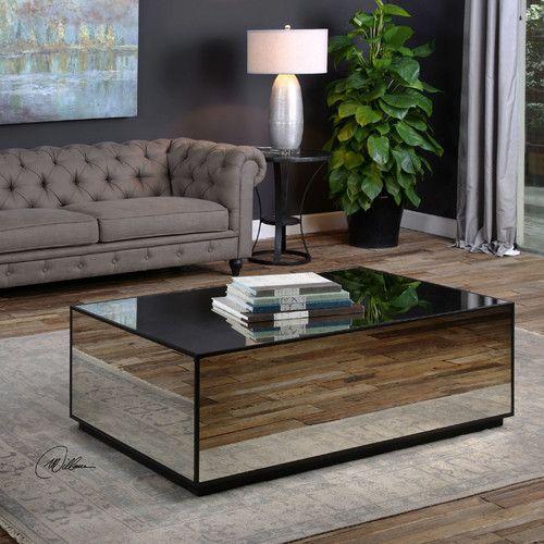 Best 25+ Mirrored Coffee Tables Ideas On Pinterest | Elegant Living Room,  Trellis Rug And Chic Living Room