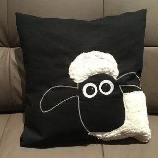 Annies DIY: Shaun das Schaf Kissen