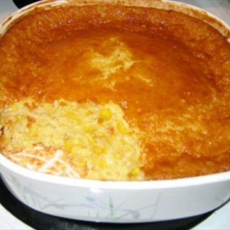 Outrageous Corn Pudding Recipe | Just A Pinch Recipes#.T3yQNWKlL9w.pinterest