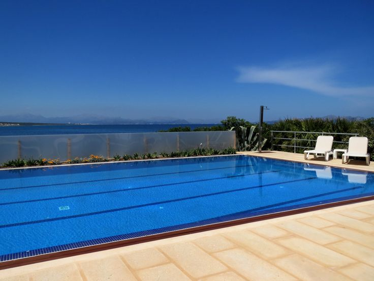 Main swimming pool at Naturplaya Hotel. The only Naturist Hotel in Mallorca.