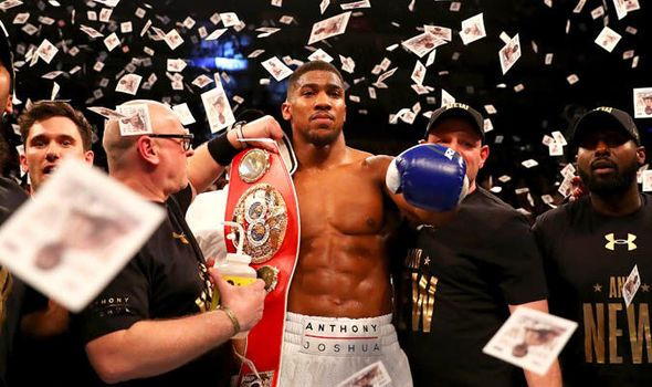 Anthony Joshua net worth: Which fights has the boxing ace earned most money from so far?