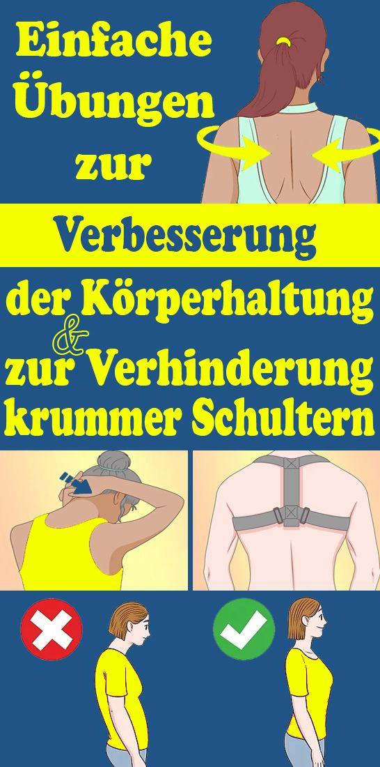 Einfache Übungen zur Verbesserung der Körperhaltung und zur Verhinderung krummer Schultern – Konig Hermann