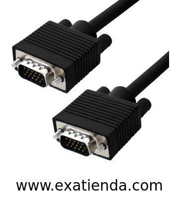 Ya disponible Cable vga 5m m/m   (por sólo 13.95 € IVA incluído):   -CONEX. VGA SUB-D 15 M/M 5 MTS -Blindado con el núcleo de ferrita en ambos extremos para la calidad máxima de la señal y evitar interferencias ocasionadas por otros equipos. Garantía de fabricante  http://www.exabyteinformatica.com/tienda/4760-cable-vga-5m-m-m #audio #exabyteinformatica