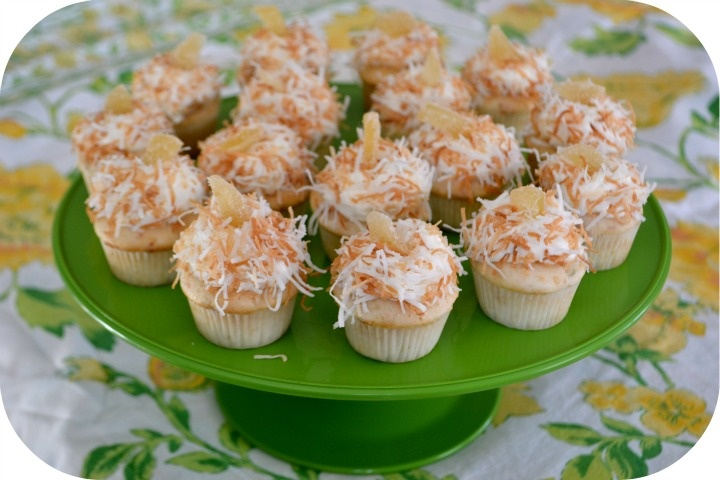 Coconut Ginger Lime Cupcakes | cakes,slices,cupcakes | Pinterest