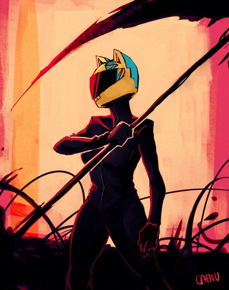 30 Day Anime Challenge - Day 13: Anime Character You're Most Similar To - Celty Sturluson from Durarara!!