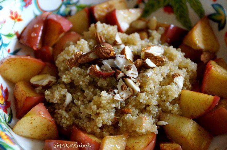 SMAKuKubek: Komosa ryżowa z prażonym jabłkiem