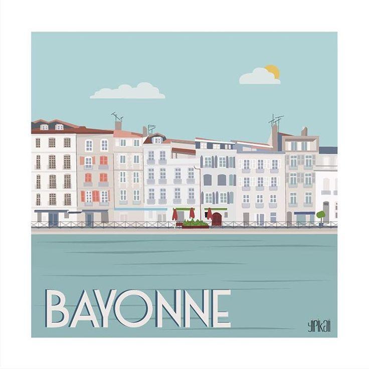 Les 25 meilleures id es de la cat gorie bayonne sur pinterest bayonne biarritz sud ouest - Horaire piscine bayonne ...
