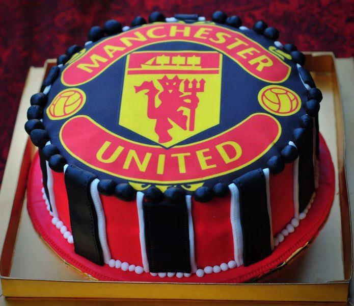 Manchester United Birthday Cake Party Supplies
