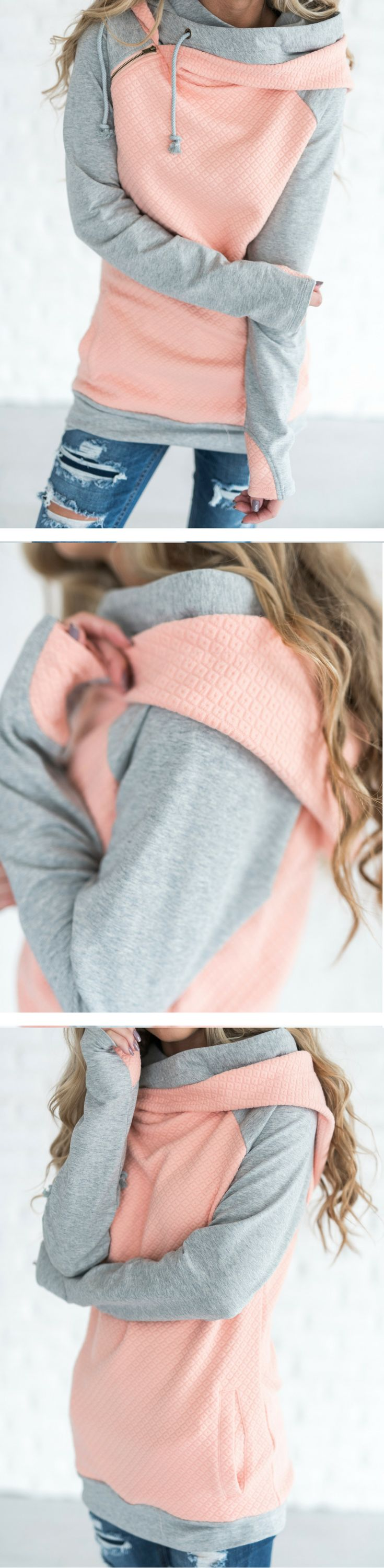 Our most popular piece and for good reason! This hoodie is the cutest way to stay comfortable and cozy while remaining dang cute!